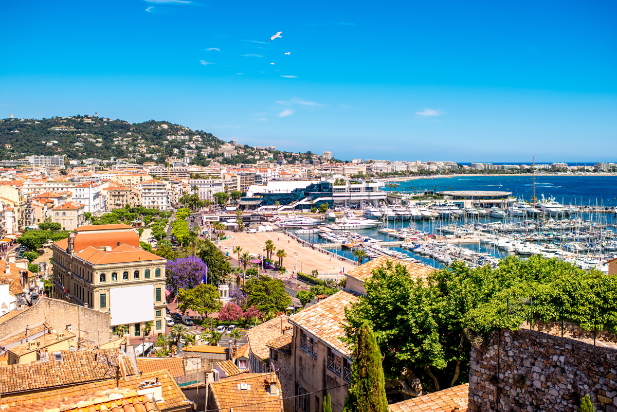 Charter a Private Flight to Cannes, France