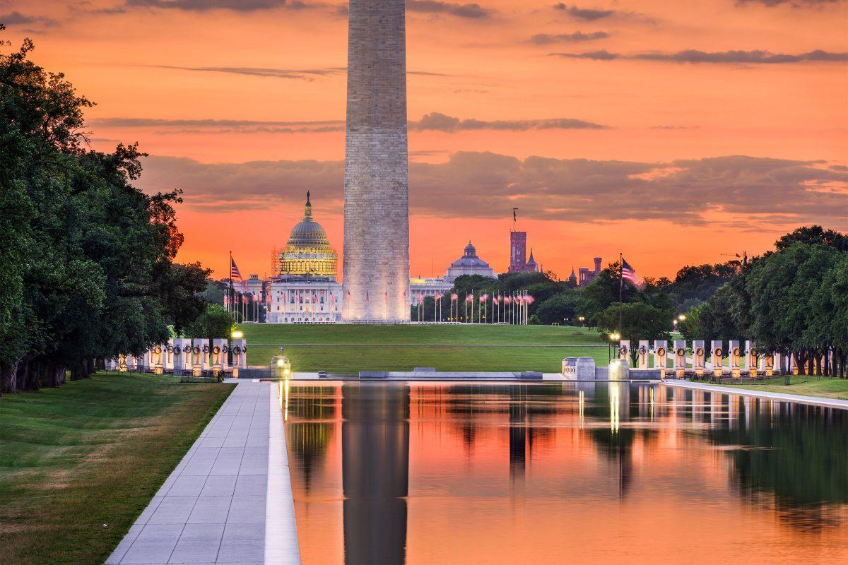 Charter a Private Jet to Washington DC