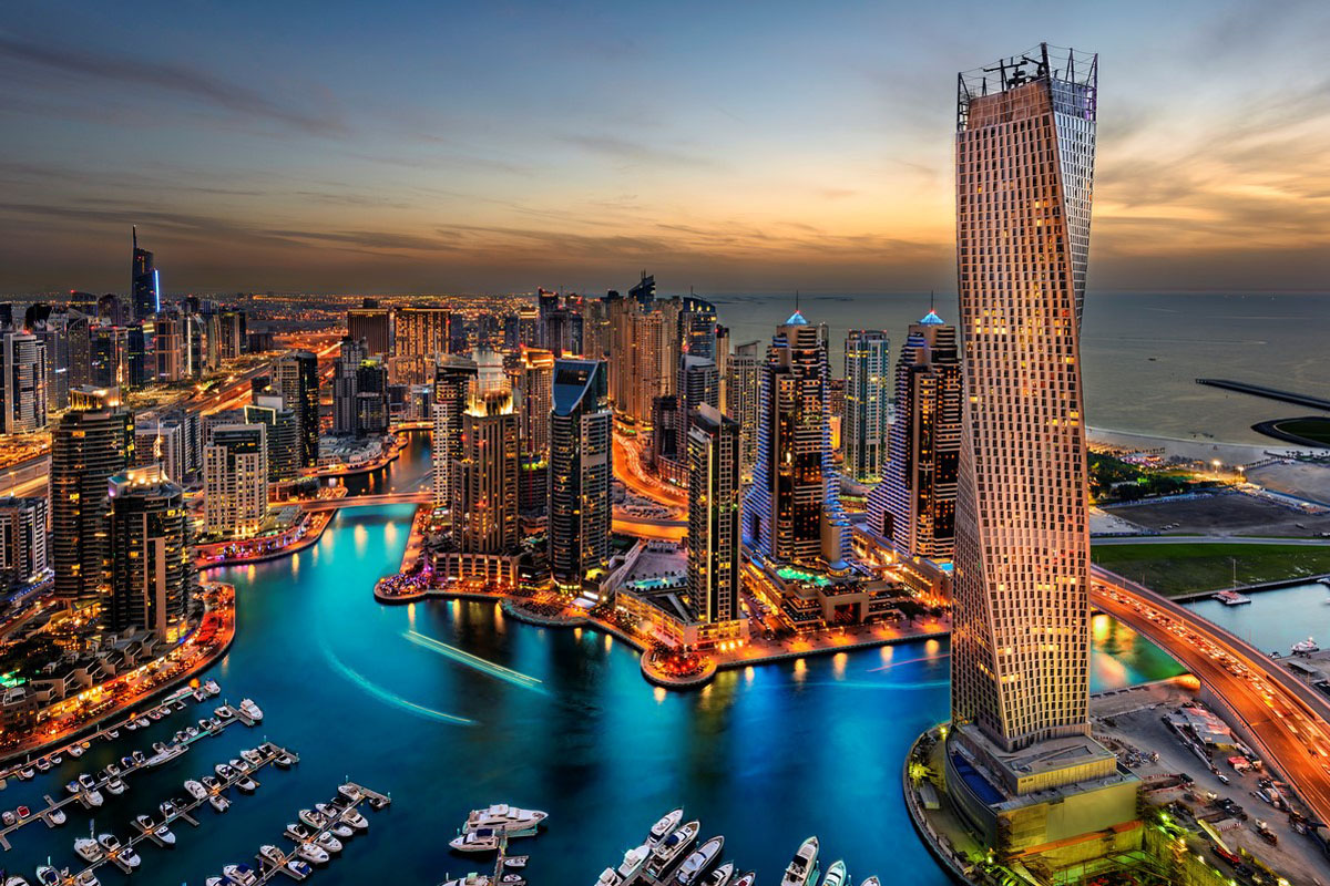 Charter a Private Jet to Dubai